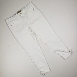 Democracy White Tie Bottom Denim Size 12